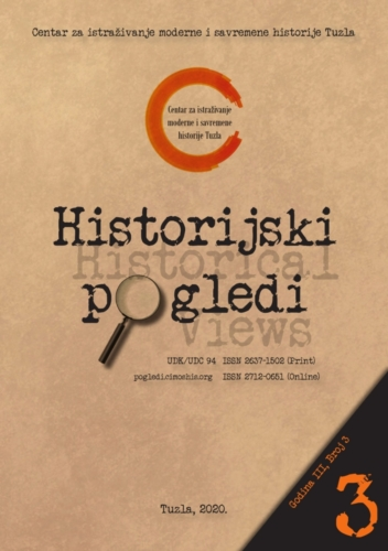 Časopis Historijski pogledi broj 3. / Journal Historical Views no. 3