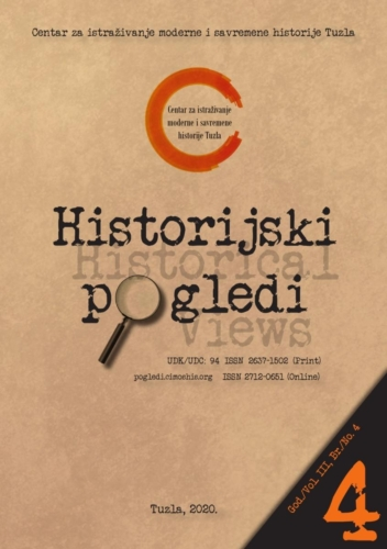 Časopis Historijski pogledi broj 4. / Journal Historical Views no. 4