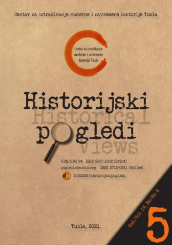 Časopis Historijski pogledi broj 5. / Journal Historical Views no. 5
