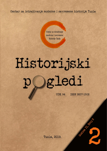 Časopis Historijski pogledi broj 2. / Journal Historical Views no. 2